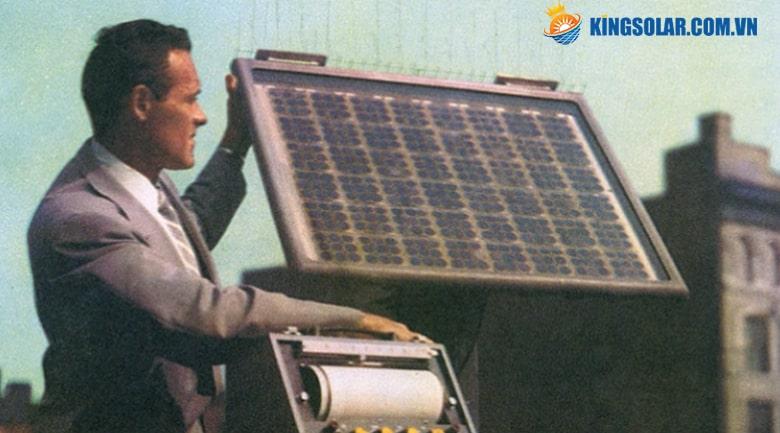 1954 phát minh tấm Pin năng lượng mặt trời