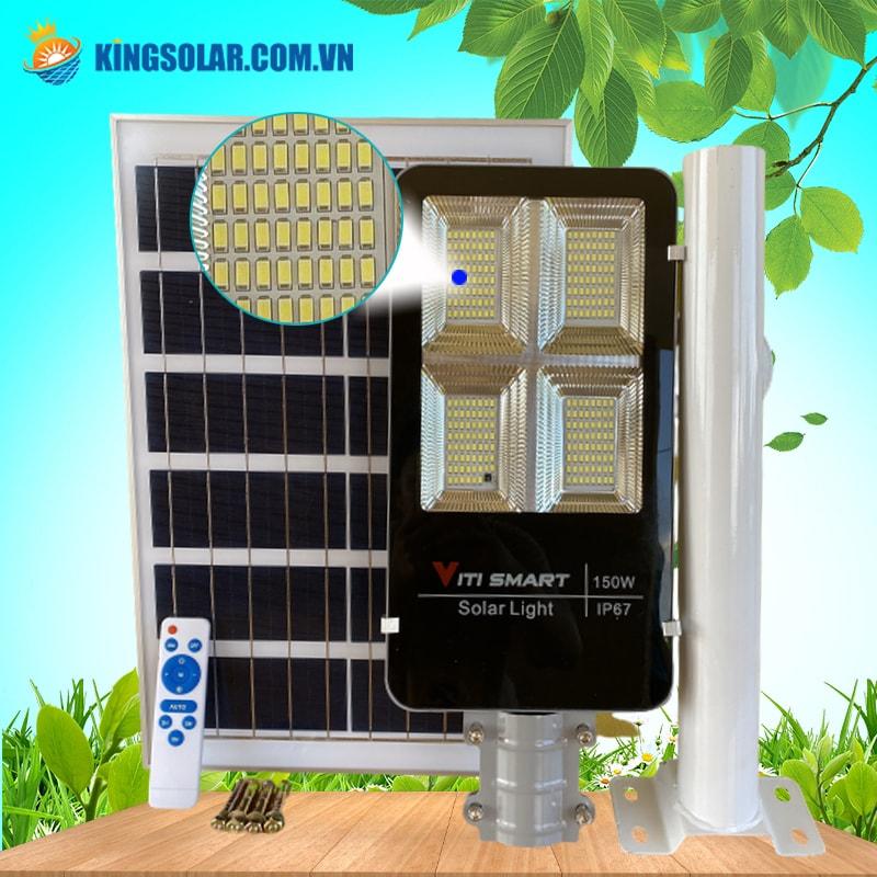 240 Chip Led đèn đường năng lượng mặt trời 150W