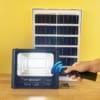 Bộ Đèn pha năng lượng mặt trời 100W solar Light
