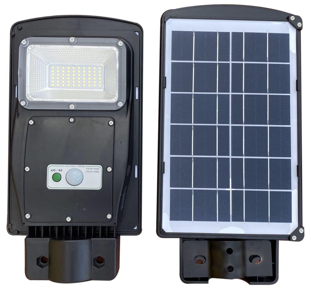 Tấm Pin đèn đường năng lượng mặt trời 30W Liền Thể