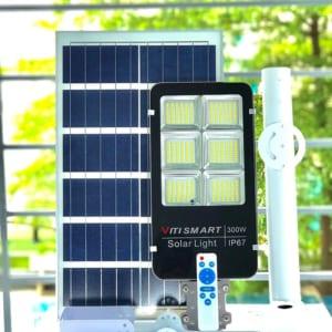 Đèn đường năng lượng mặt trời 300W Pin rời