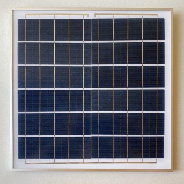 Tấm Pin Đèn pha năng lượng mặt trời 60W solar Light