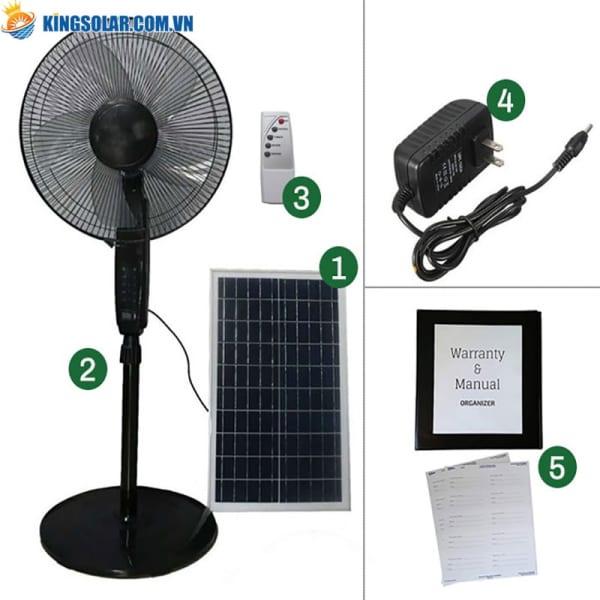 các bộ phận quạt năng lượng mặt trời JDS88