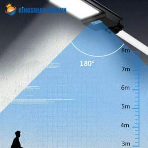 Cảm biến radar nhận diện chuyển động của đèn đường 200w solar light