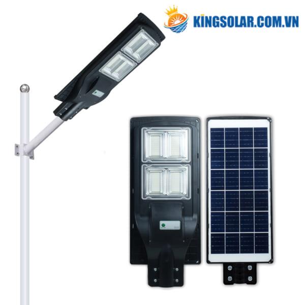 Đèn đường năng lượng mặt trời 120W cao cấp solar light