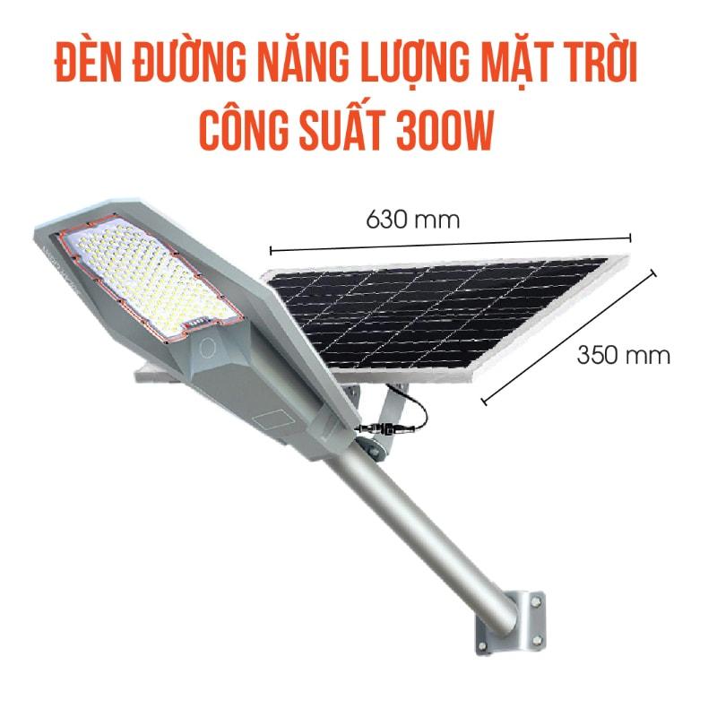 Đèn đường năng lượng mặt trời army 300w