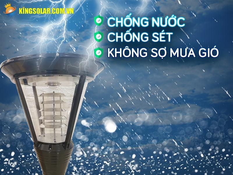 kha nang chong nuoc cua den tru san vuon ks-gdl62