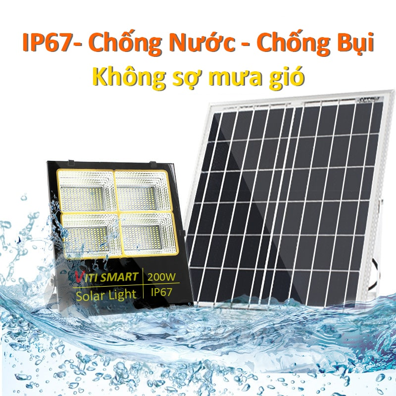 Tiêu chuẩn chống nước IP67 đèn pha 200W