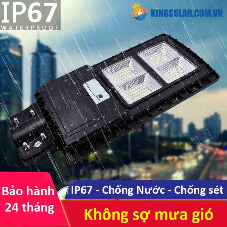 khả năng chống nước tuyệt đối đèn 100w solar light