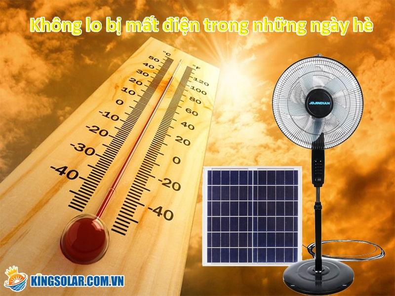 không lo mất điện trong những ngày hè