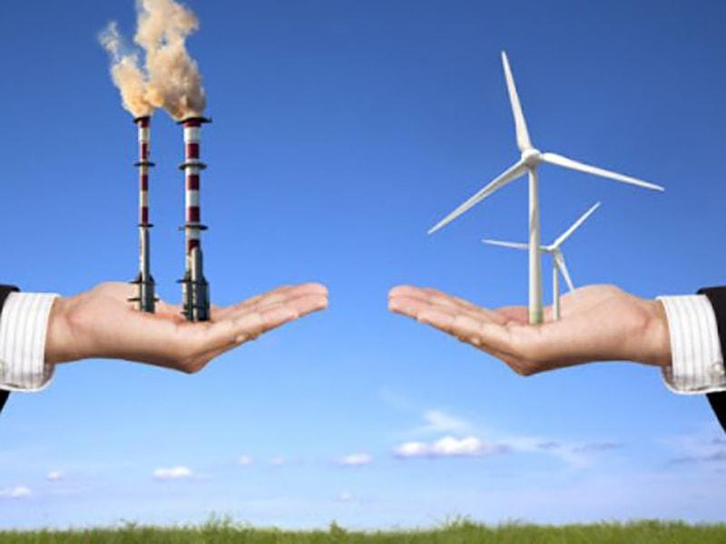 năng lượng tái tạo và năng lượng không tái tạo