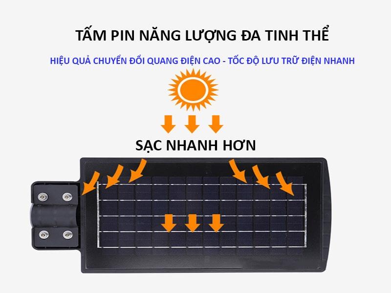 tấm pin năng lượng đa tinh thể đèn led năng lượng mặt trời 150w