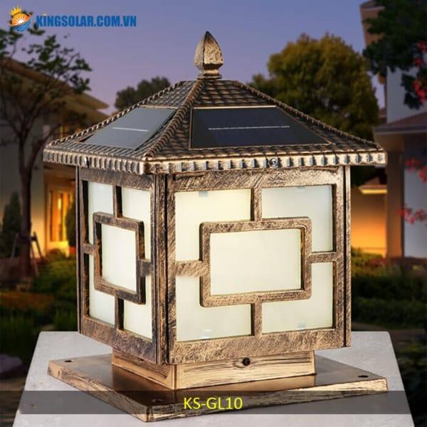 đèn trụ cổng năng lượng mặt trời giá rẻ KS-GL10