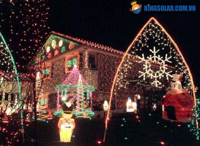 Đèn led dùng để trang trí nhà cửa