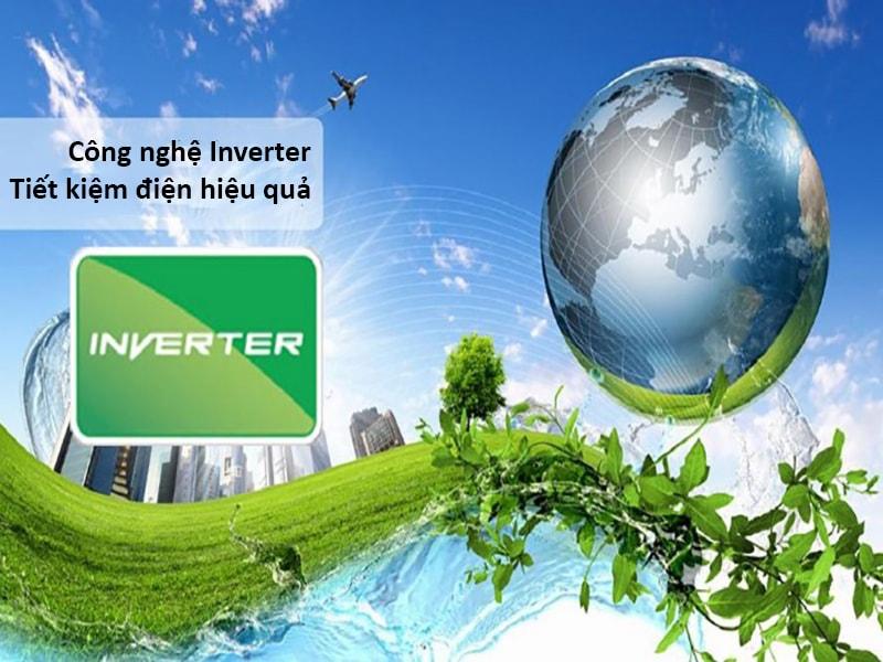 Sử dụng công nghệ inverter để tiết kiệm điện