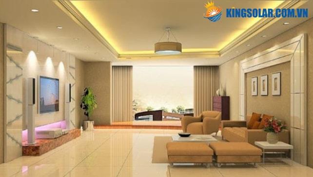Ứng dụng đèn LED chiếu sáng cho các căn hộ gia đình