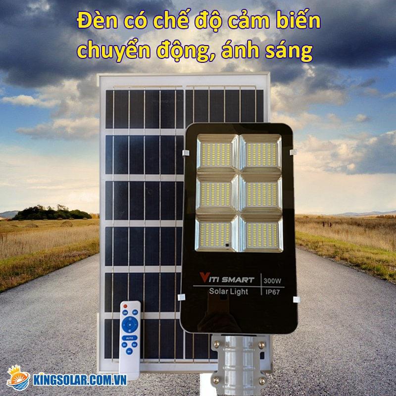Đèn năng lượng mặt trời có cảm biến
