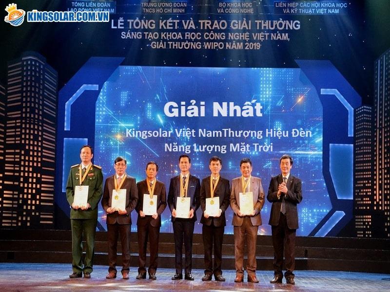 Kingsolar Việt Nam nhà phân phối đèn nlmt số 1 Việt Nam