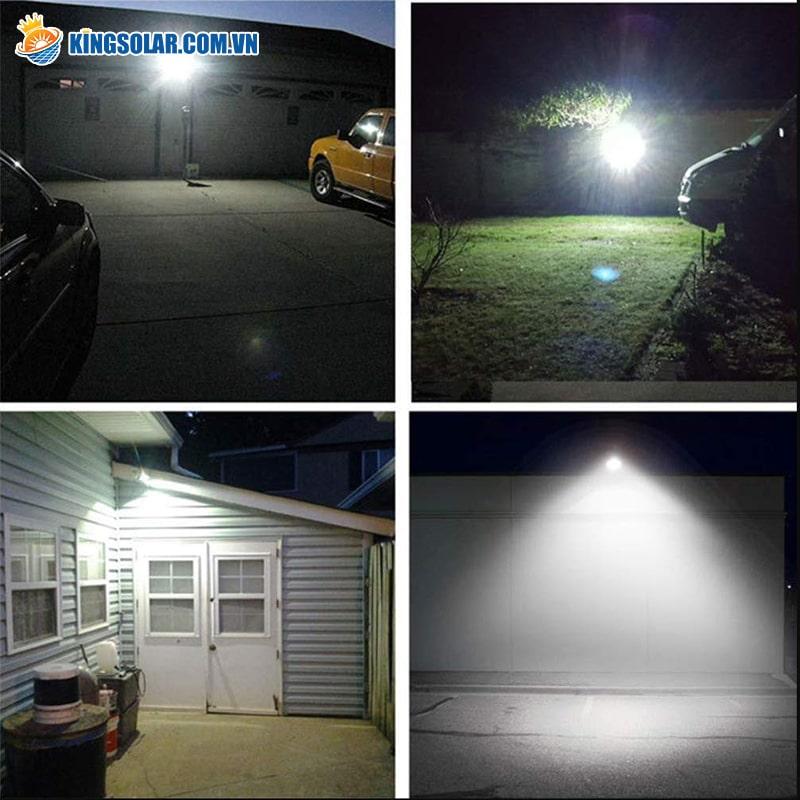 Tính ứng dụng cao của đèn led năng lượng mặt trời