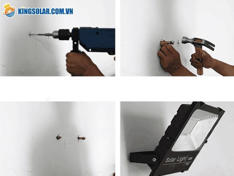 Lắp đặt đèn solar light
