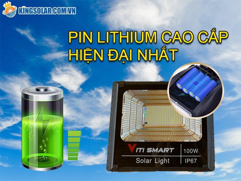 Thay pin dự trữ năng lượng mặt trời