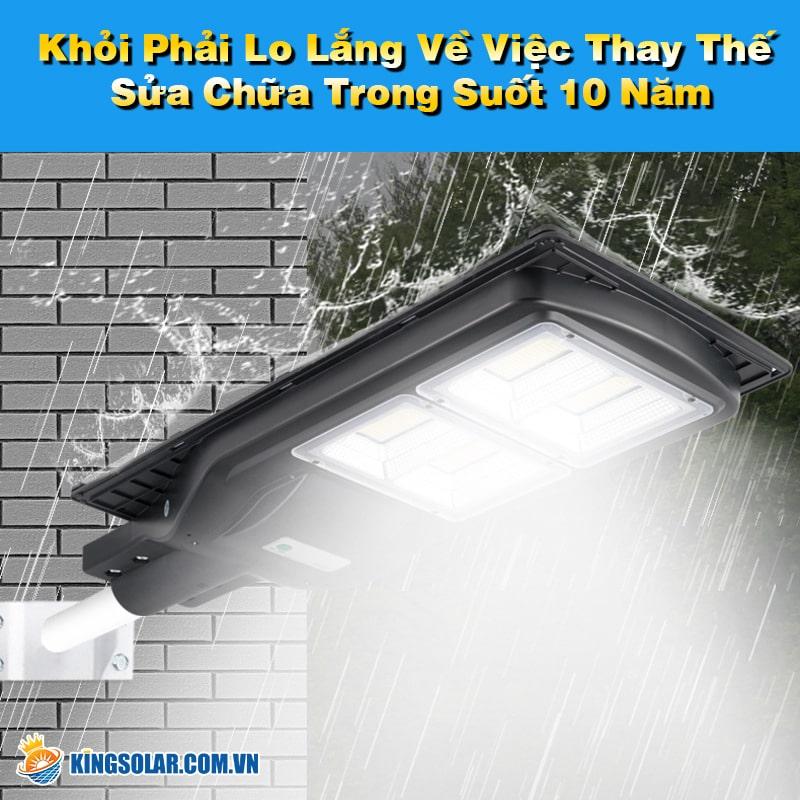 đèn led solar light bảo trì thấp