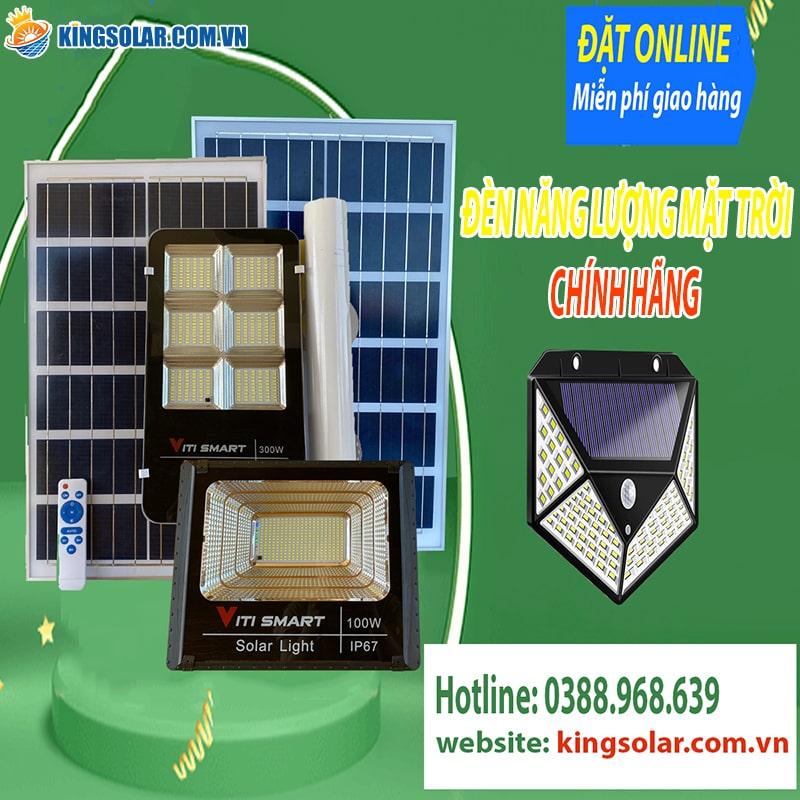 đèn năng lượng mặt trời tại kingsolar việt nam chính hãng bảo hành 24 tháng