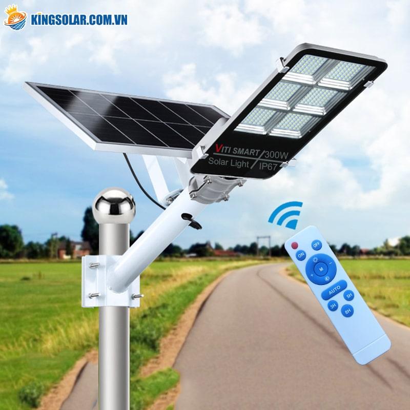 đèn năng lượng mặt trời tích hợp nhiều tính năng và dễ lắp đặt