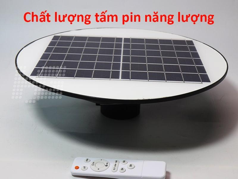 chất lượng tấm pin đèn sân vườn năng lượng mặt trời