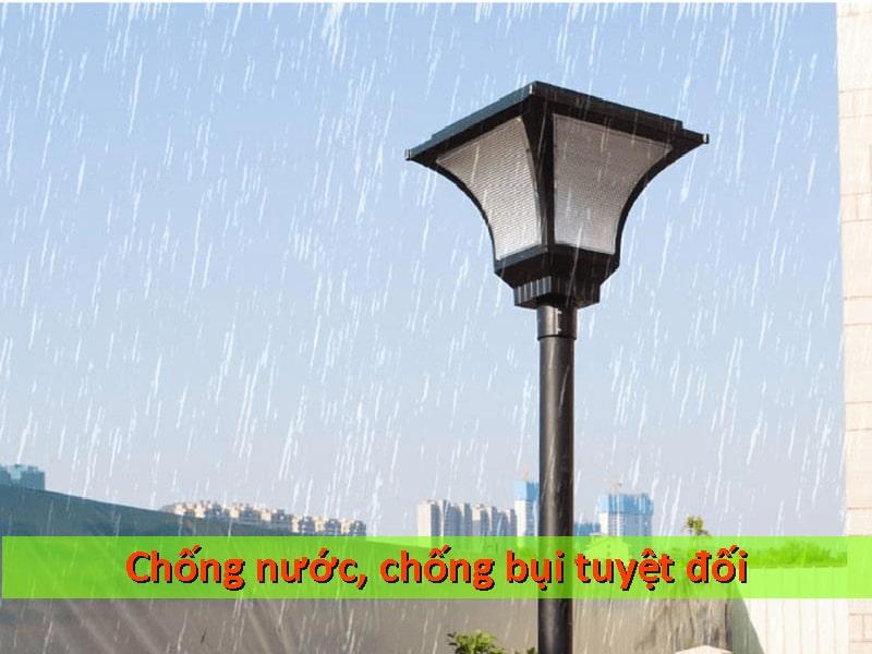 khả năng chống nước chống bụi của đèn sân vườn năng lượng mặt trời
