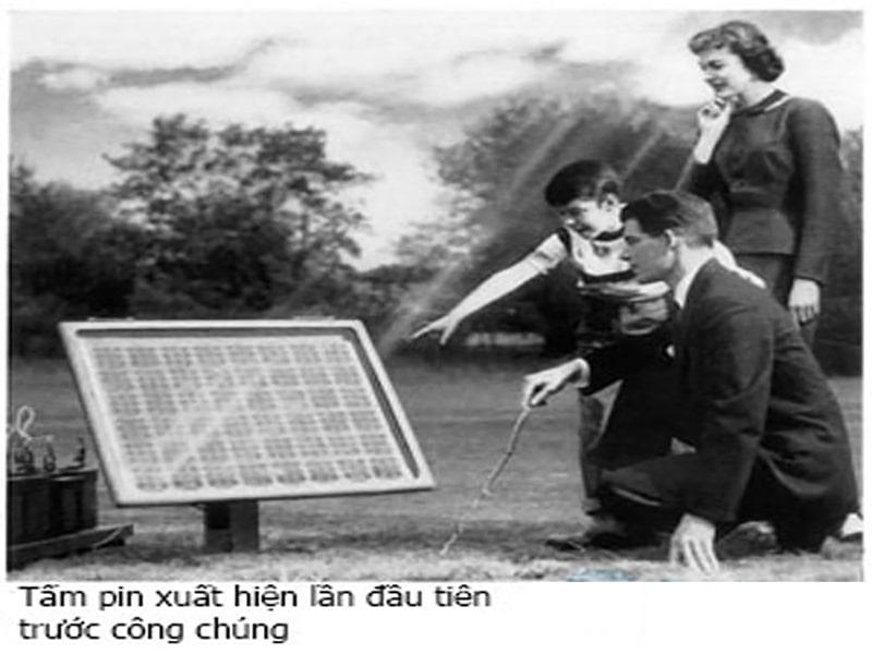 lịch sử của pin năng lượng mặt trời