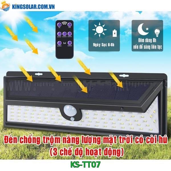 đèn gắn tường năng lượng mặt trời