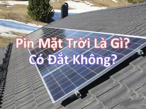 pin mặt trời là gì có đắt không