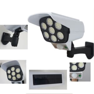 đèn treo tường năng lượng mặt trời kiểu dáng camera