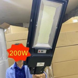 Đèn đường năng lượng mặt trời 200w liền thể - solar light