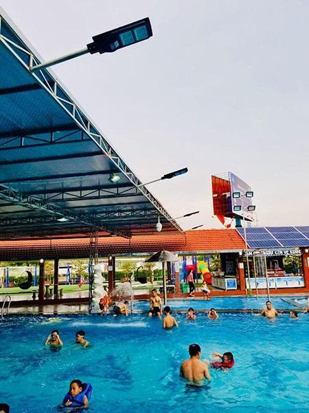Lắp đặt bể bơi - khu vui chơi