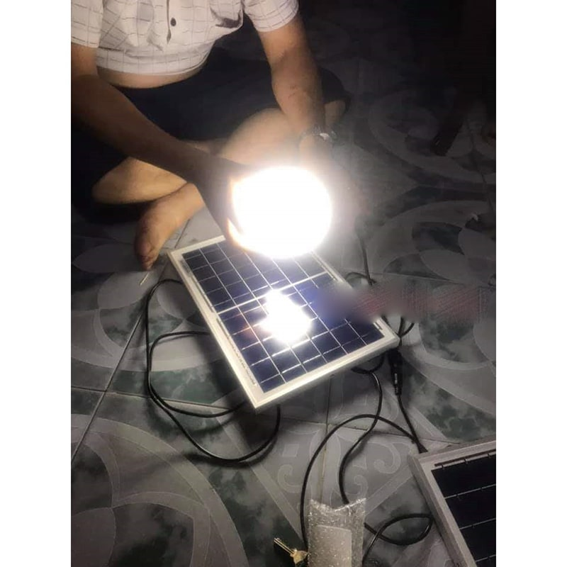 đèn bulb năng lượng mặt trời 100w