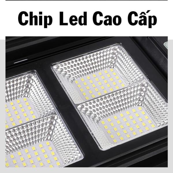 đèn năng lượng mặt trời 200w sử dụng chip led cao cấp