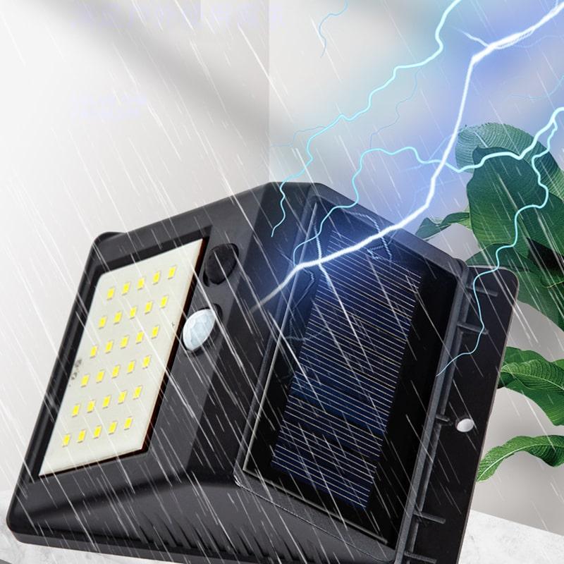 khả năng chống thấm nước của đèn treo tường năng lượng mặt trời