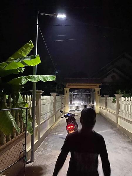 Chiếu sáng cổng suốt đêm