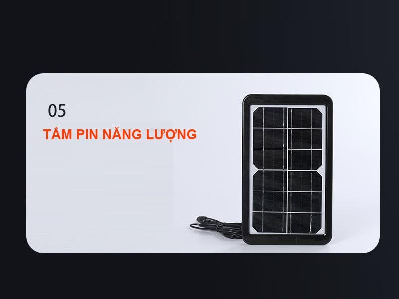 tấm pin năng lượng bóng đèn bulb năng lượng mặt trời