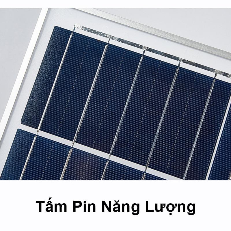 tấm pin năng lượng đèn pha led năng lượng mặt trời