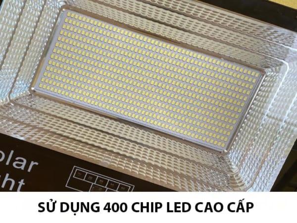 400 chip led đèn pha năng lượng mặt trời 300w