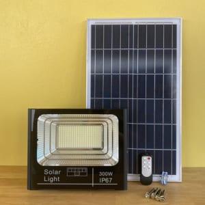 đèn pha năng lượng mặt trời 300w solar light
