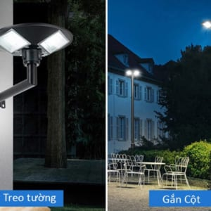 lắp đặt đèn năng lượng mặt trời UFO